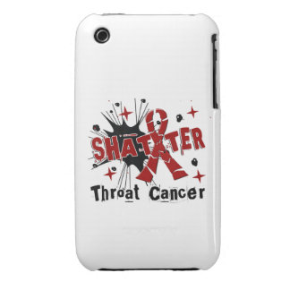 Shatter Throat Cancer iPhone 3 Case-Mate Case