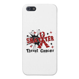 Shatter Throat Cancer iPhone 5 Cases