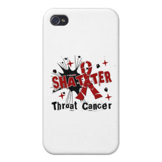 Shatter Throat Cancer iPhone 4/4S Case