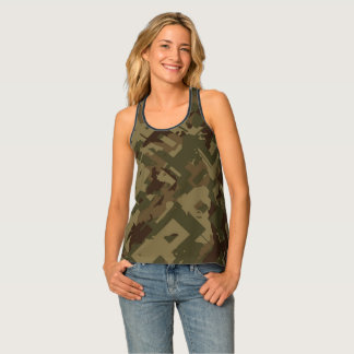 Shattered Camouflage Singlet