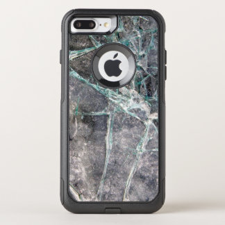 Shattered Cracked Glass OtterBox Commuter iPhone 8 Plus/7 Plus Case