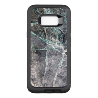 Shattered Cracked Glass OtterBox Defender Samsung Galaxy S8+ Case