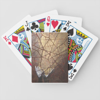 Shattered Glass and Sunlight Bicycle Playing Cards