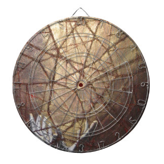 Shattered Glass and Sunlight Dartboard
