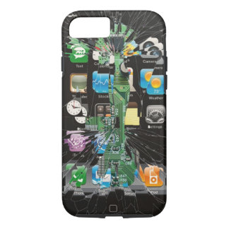 Shattered iPhone 7 ver. 2 iPhone 7 Case