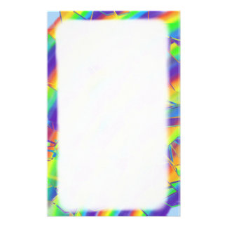 Shattered Rainbow Stationery