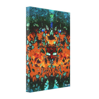 Shattered Sin Canvas Print