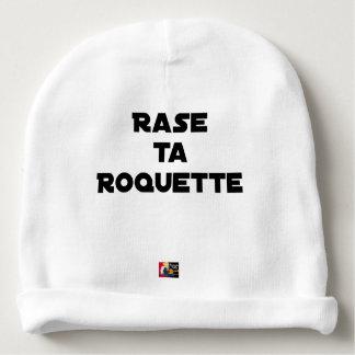 SHAVE MT ROCKET - Word games - François Ville Baby Beanie