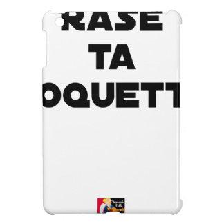 SHAVE MT ROCKET - Word games - François Ville iPad Mini Cases