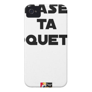 SHAVE MT ROCKET - Word games - François Ville iPhone 4 Case-Mate Case