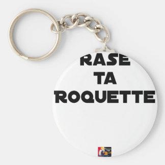 SHAVE MT ROCKET - Word games - François Ville Key Ring