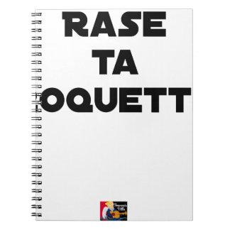 SHAVE MT ROCKET - Word games - François Ville Notebook