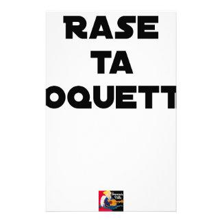 SHAVE MT ROCKET - Word games - François Ville Stationery