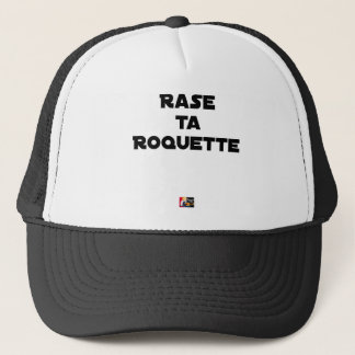 SHAVE MT ROCKET - Word games - François Ville Trucker Hat