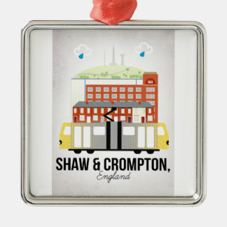 Shaw and Crompton Metal Ornament