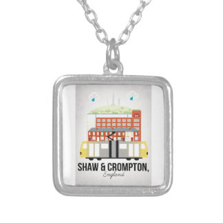 Shaw and Crompton Silver Plated Necklace