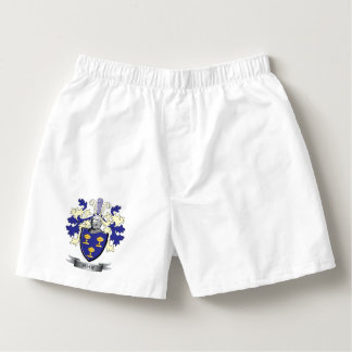 Shaw Family Crest Coat of Arms Boxers