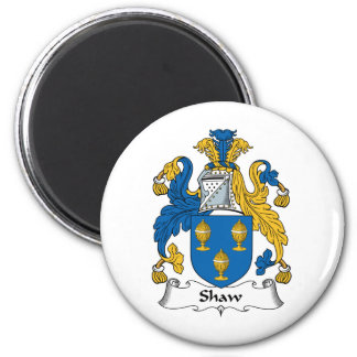 Shaw Family Crest Magnet