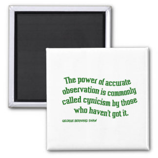 Shaw on Cynicism Magnet