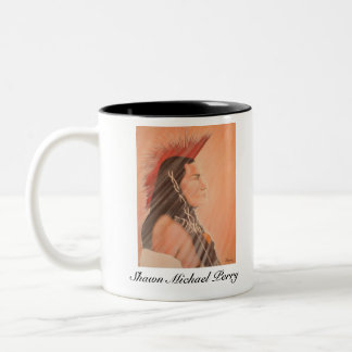 Shawn Michael Perry Limited Edition Two-Tone Mug