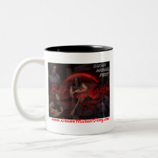 SHAWN MICHAEL PERRY RED EARTH COFFEE MUG