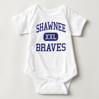 Shawnee Braves Middle Fort Wayne Indiana Baby Bodysuit
