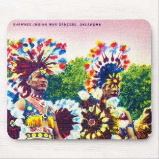 Shawnee Indian War Dancers, Oklahoma Mouse Pad