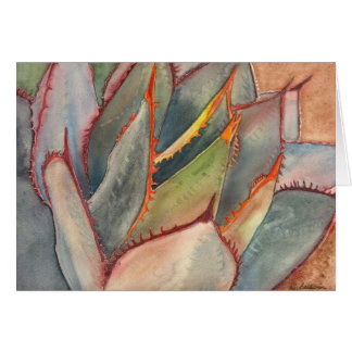 Shaw's agave notecard