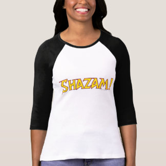 Shazam Logo Yellow/Red T-Shirt