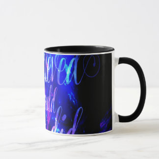 She Believed in Amethyst Dreams Mug