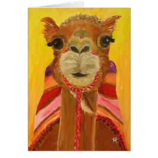 She-Camel Suzie Greeting Card