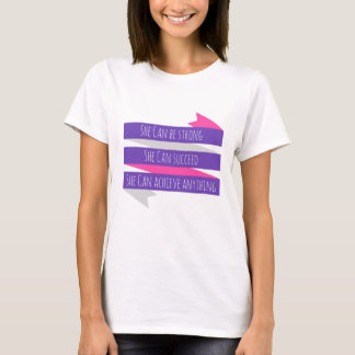 She Can Womens Shirt