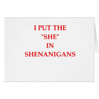SHE CARD