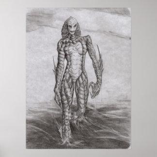 She Creature Print