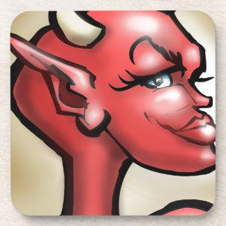 She Devil Drink Coaster