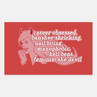 She-Devil sticker