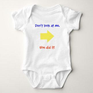 She did it! baby bodysuit