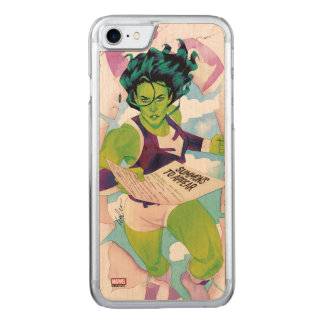 She-Hulk Delivering Summons Carved iPhone 7 Case