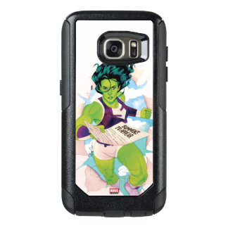 She-Hulk Delivering Summons OtterBox Samsung Galaxy S7 Case