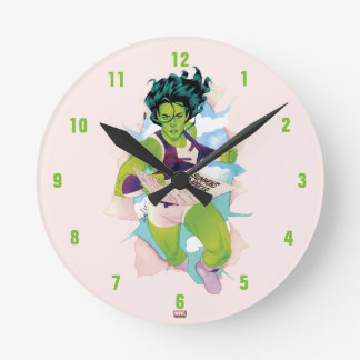 She-Hulk Delivering Summons Round Clock