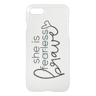 She is BRAVE Phone Case