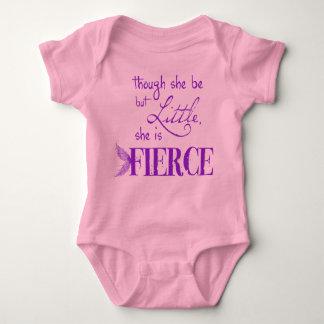 She is fierce baby bodysuit