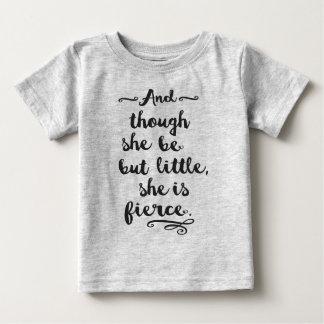 She is Fierce Baby T-Shirt