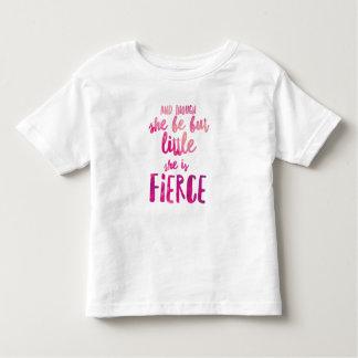 She is Fierce Toddler Fine Jersey T-Shirt