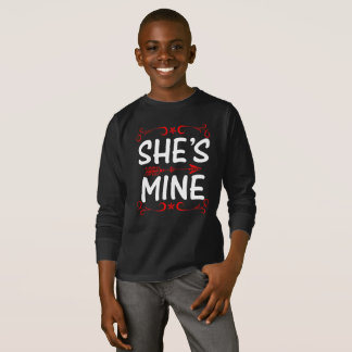She is Mine T Shirt For Girls/Women