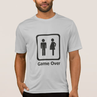 She is pregnant - Game Over T-Shirt