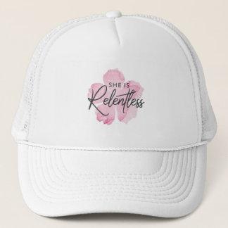 She is Relentless Trucker Hat