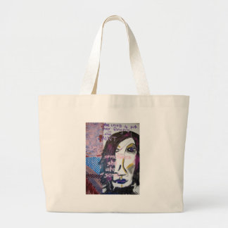 She Loved to Put Her Fingers in the Paint, 2004 Jumbo Tote Bag