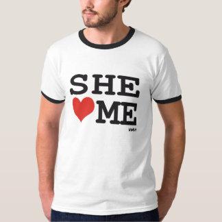 She loves me tshirts
