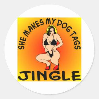 She Makes My Dog Tags Jingle